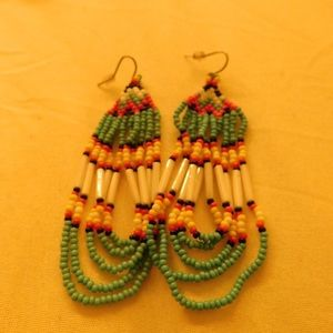 Jewelry - Beaded Native American earrings